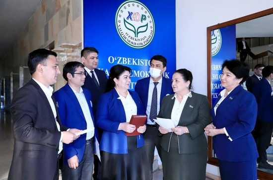 A Plenum of the Central Council of the People's Democratic Party of Uzbekistan takes place