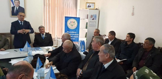 PDPUz Leader: It is necessary to strengthen the effectiveness of pre-election campaign